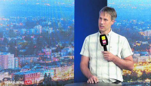 Gerold Strehle sprach von hohem Nutzungsdruck auf den Siedlungsraum. vn
