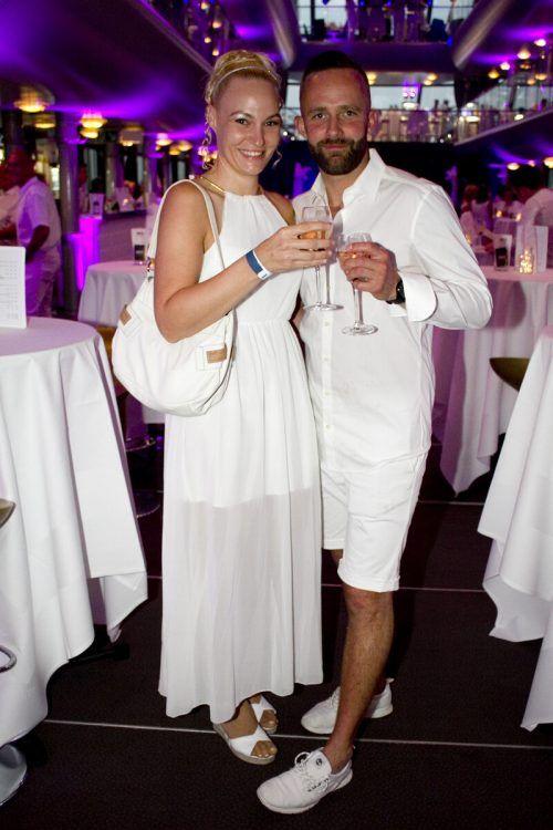 Getreu dem Motto waren Daniela Bereuter und Maik Koschmieder erschienen.