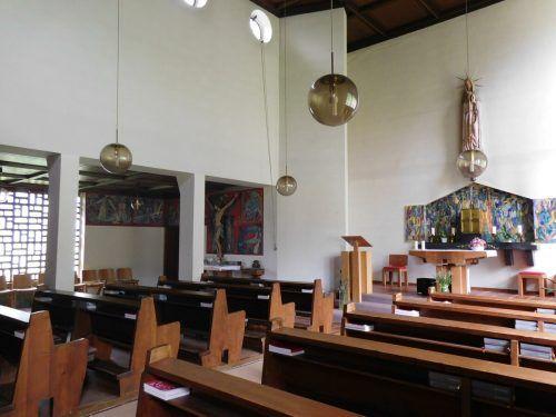 In der Fátimakirche werden jeden Sonntag Messen zelebriert.