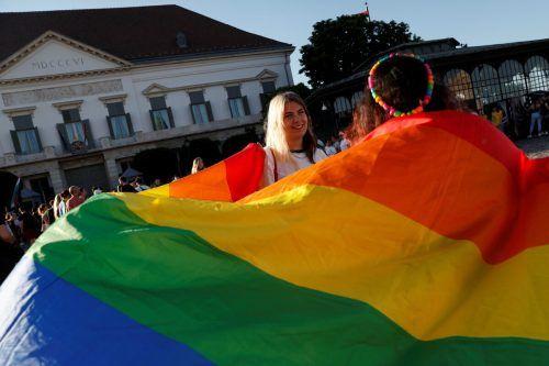 In Ungarn war es zu Protesten gegen das umstrittene Gesetz gekommen. Auch die Europäische Union sieht es als diskriminierend an. reuters