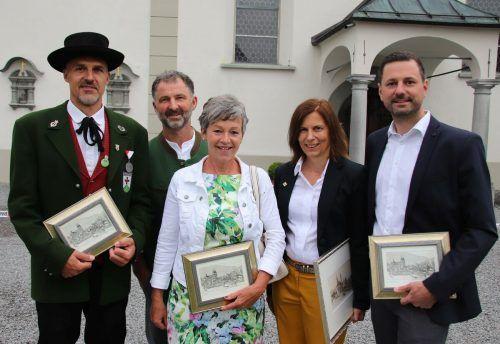Joachim Marolt, Christoph Böhler, Brigitte Winder, Judith Schilling-Grabher und Emanuel Immler. nam/5