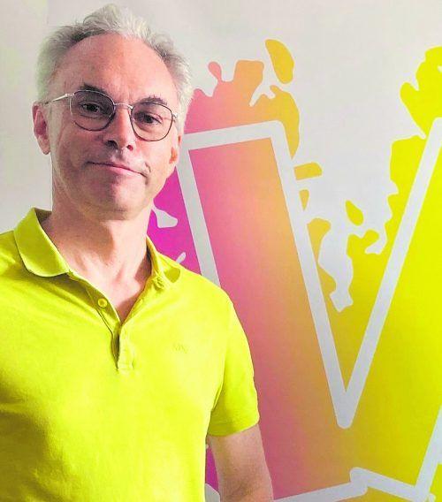 """KlimaVOR!-Obmann Christof Drexel beschreibt das """"Big Picture Klima"""" Vorarlbergs."""