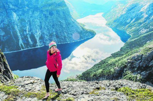 Magdalena Rauter liebt es, besondere Landschaften zu entdecken.