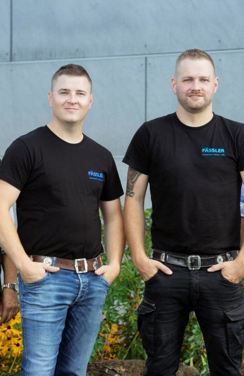 Ralf und Gerald Fässler leiten den Familienbetrieb. Fässler