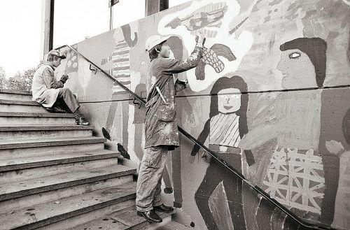 Rankweil, Bahnunterführung, 1980