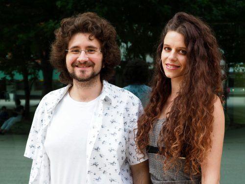 Sebastian Hagen und Anna-Amanda Steurer.