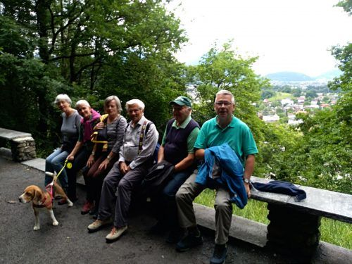 Wanderung durch den Koblachwald. H. Herzog