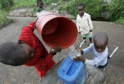 920 Millionen Kinder leiden laut Unicef unter Wasserknappheit. Reuters