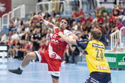 Alpla-HC-Hard-Scharfschütze Ivan Horvat befindet sich bereits in bestechender Form und erzielte gegen Toulouse neun Tore.VN/Stiplovsek