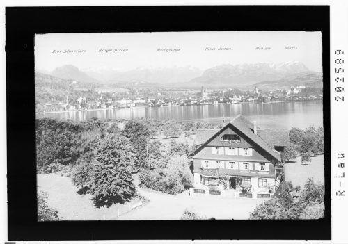 Alte Ansicht vom HotelWellenhof am Bodensee.