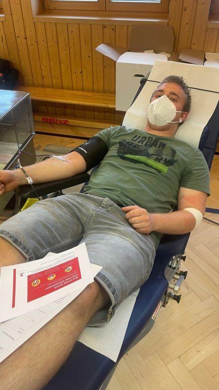Am 23. August kann in Bizau Blut gespendet werden.