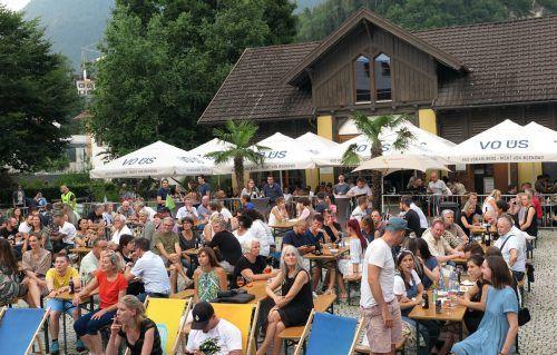 """Am Donnerstag findet zum letzten Mal dieses Jahr die Veranstaltung """"Beats & Beer"""" auf dem Remise-Vorplatz statt."""