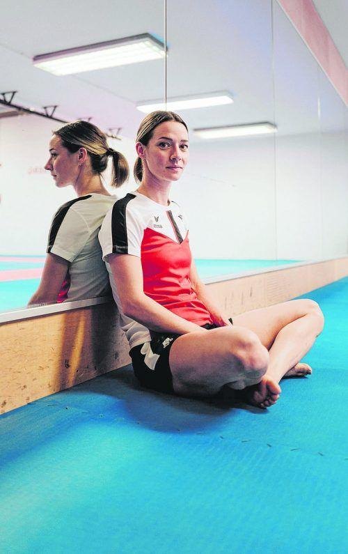 Am Donnerstag wird die 29-jährige Feldkircherin Bettina Plank bei der Olympiapremiere des Karatesports auf der Matte stehen.ÖOC/Stadler
