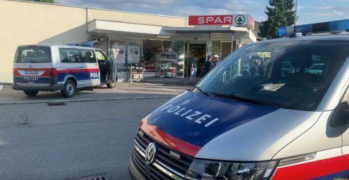 Am Freitag wurde der Sparmarkt in der Bregenzer Landstraße überfallen. VN
