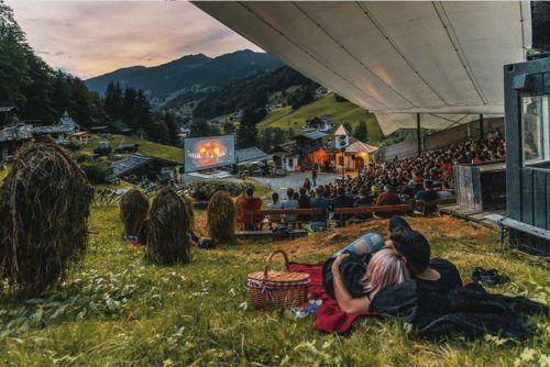 Am letzten Augustwochenende kann man an drei verschiedenen Orten im Montafon jeweils einen Kinderfilm unter freiem Himmel anschauen.