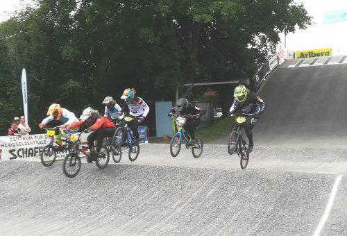 Ansehnliche Rennen waren in Bludenz zu sehen, die Deutschschweizer BMX-Vereinigung trug ihr zweites Saisonrennen im Ländle aus.VEREIN
