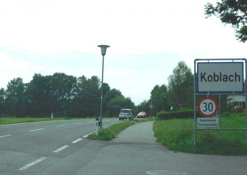 Auf allen Koblacher Gemeindestraßen gilt nun Tempo 30. Mäser