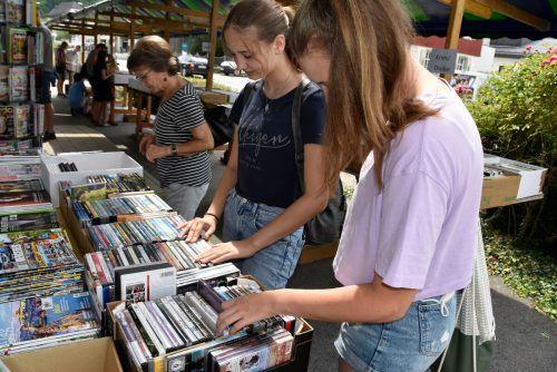 Auf Bücherfreunde wartet beim Marktfest ein Bücherflohmarkt. Rankweil