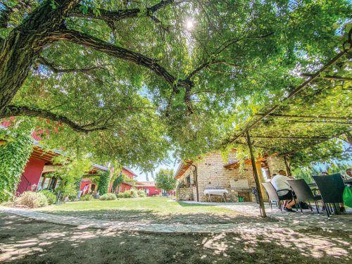 Auf dem Weingut Albafiorita kann man die Zeit vergessen und den Urlaub genießen.