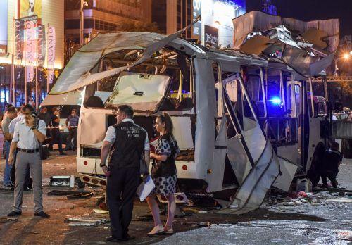 Bei der Explosion in Russland starben zwei Menschen, 18 weitere wurden verletzt. RTS