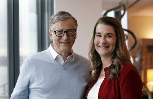 Bill und Melinda Gates haben im Mai angekündigt, sich nach 27 Ehejahren scheiden zu lassen – die Scheidung ist inzwischen besiegelt. AP