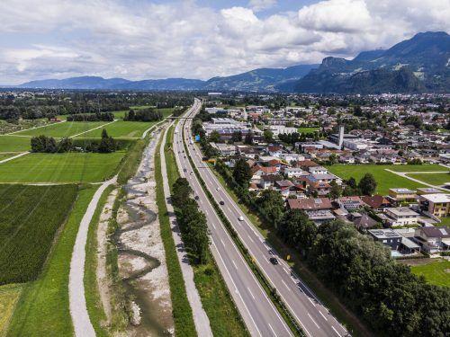 Bis 2024 soll die 3,5 Millionen Euro teure Gewässerrevitalisierung fertiggestellt sein. VN/Paulitsch