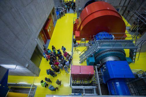 Bis 2050 sollen drei weitere große Wasserkraftwerke ans Vorarlberger Stromnetz. VN/Steurer