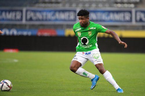 Bleibt ein weiteres Jahr bei der Lustenauer Austria: Mittelfeldspieler Brandon Baiye.gepa