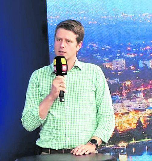 """Bürgermeister Josef Lechthaler war bei """"Vorarlberg live"""" zu Gast."""