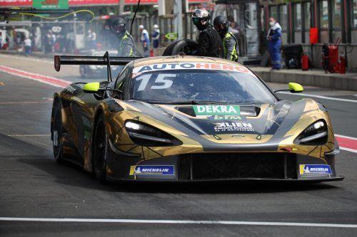 Christian Klien stellte den McLaren 720S vom JP-Motorsportteam in der zweiten Qualifikation auf den achten Startplatz.GEPA