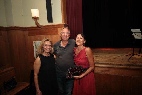 Christine Delas (Wien), Bertold Bischof und Christa Kessler.