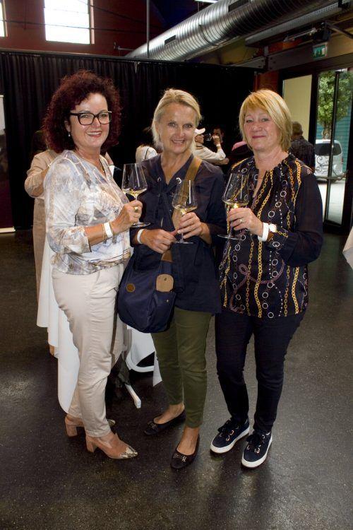 Damentrio: Elke Spiegel, Angelika Lahme und Birgit Armellini.