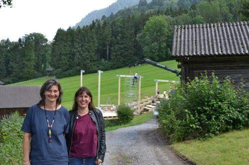 Daniela Jochum und Isabella Marte verbindet eine langjährige Freundschaft.