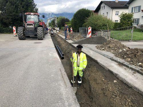 Das Energienetz im Bereich Negrellistraße wird verstärkt.Marktgemeinde