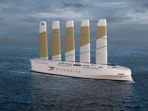 Das erste Segel in Originalgröße der Oceanbird wird heuer gefertigt.                              WALLENIUS MARINE