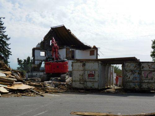 Das Gasthaus Engel in Weiler ist endgültig Geschichte.Mäser