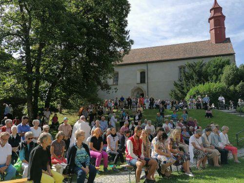 Das Gebhardsfest findet am 27. August statt.