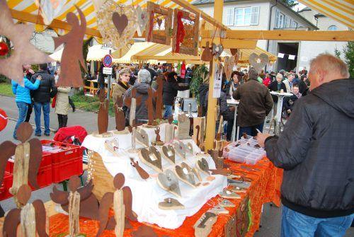 Das Kreativmärktle des Lebensraums bietet kommenden Sonntag, 5. September, eine Vielfalt an Deko- und Geschenkideen.hapf