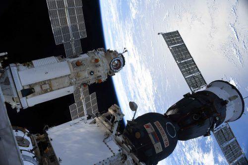 Das Labor ist bereits an der Raumstation angedockt. Reuters