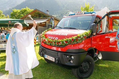 Das Löschfahrzeug ist auch für technische Hilfeleistungen ausgerüstet. VLK