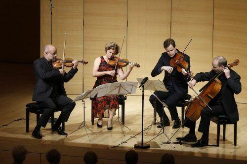 Das Mandelring-Quartett bot ein hinreißendes Konzerterlebnis. Schubertiade