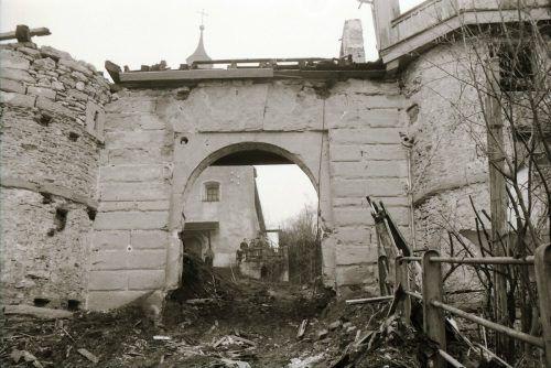 Das Mesmerhaus hatte ausgedient und wurde entfernt.