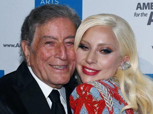 Das neue Album von Tony Bennett und Lady Gaga soll am 1. Oktober erscheinen. AFP