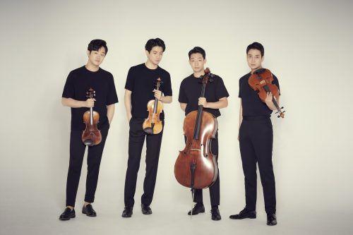 Das Novus String Quartet gastiert am Sonntag das erste Mal bei der Schubertiade in Schwarzenberg.Jino Park