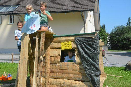 Den vollen Überblick hatten die Besitzer dieser Hütte. Sie haben sogar eine Terrasse gebaut.bvs (3)