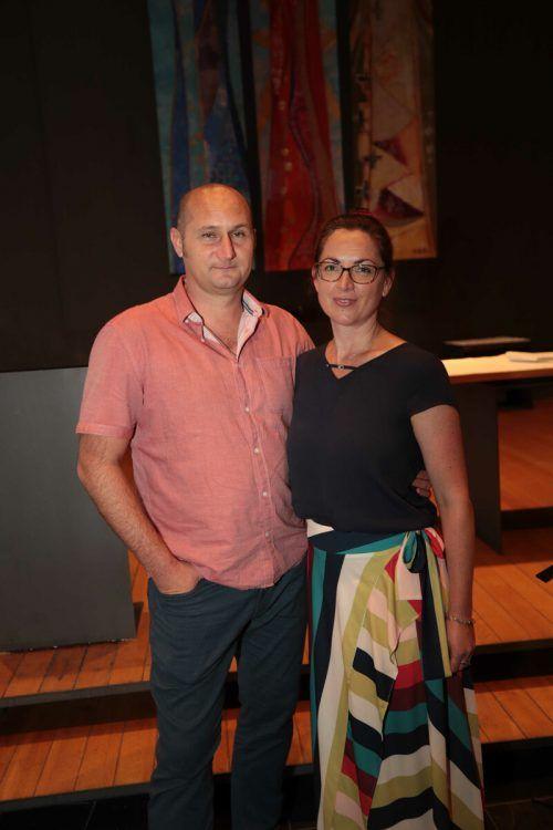 Denis Antipov und Katrin Vardanayam.