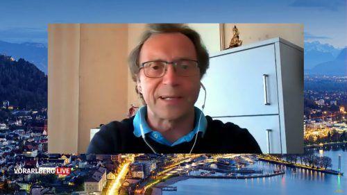 Der Aerosolforscher betont die Wichtigkeit, die Konzentration von virenverseuchten Luftpartikeln gering zu halten. Vorarlberg live