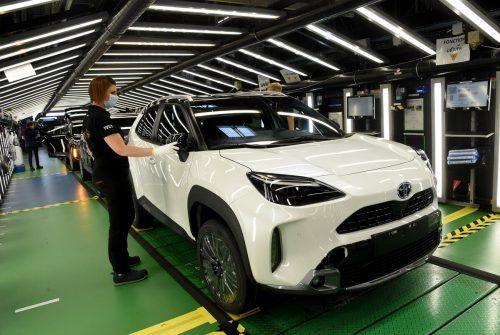 Der Autokonzern Toyota konnte im ersten Halbjahr das Ergebnis stark steigern. AFP