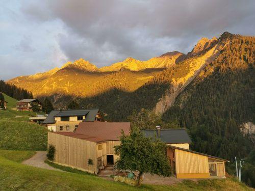 Der Bauernhof liegt auf 1100 Metern Seehöhe.