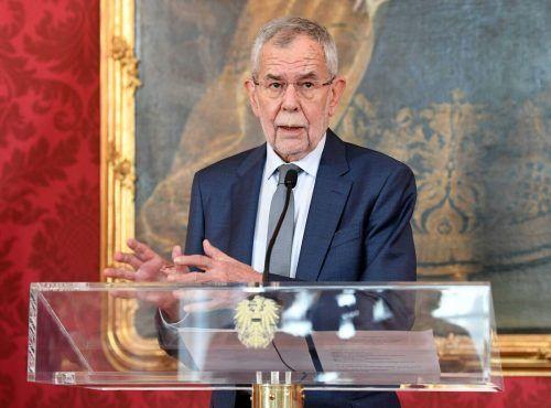 Der Bundespräsident äußerte sich zur Situation in Afghanistan. APA